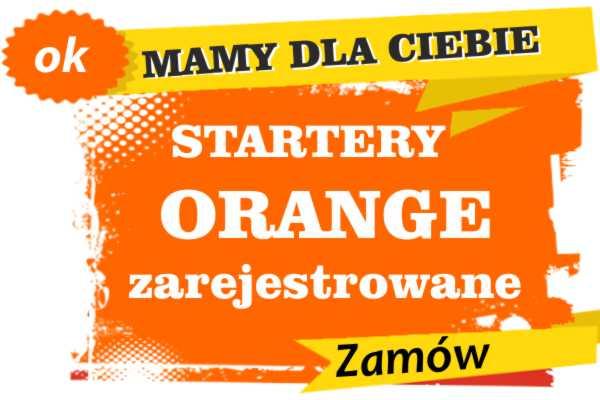 Sprzedam zarejestrowane karty sim orange Susz  zadzwoń 887 332 665